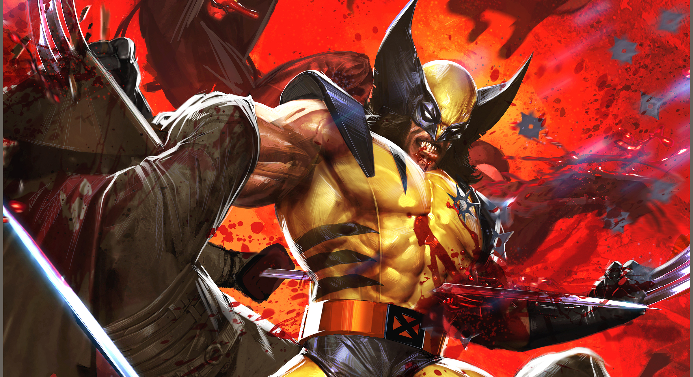 351 Wolverine Hd Wallpapers Background Images Wallpaper Abyss