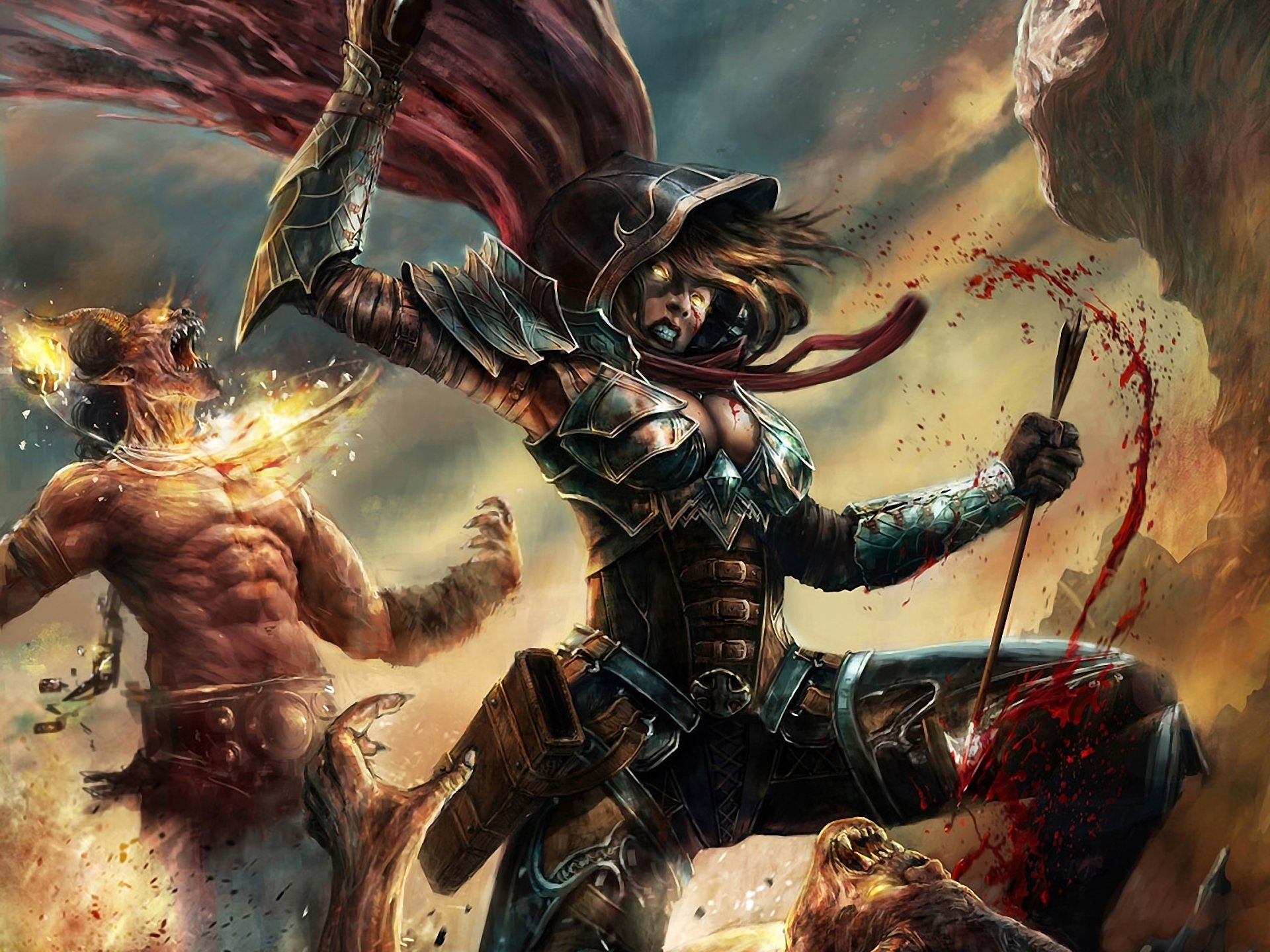 120 Demon Hunter Diablo Iii Hd Wallpapers Background Images