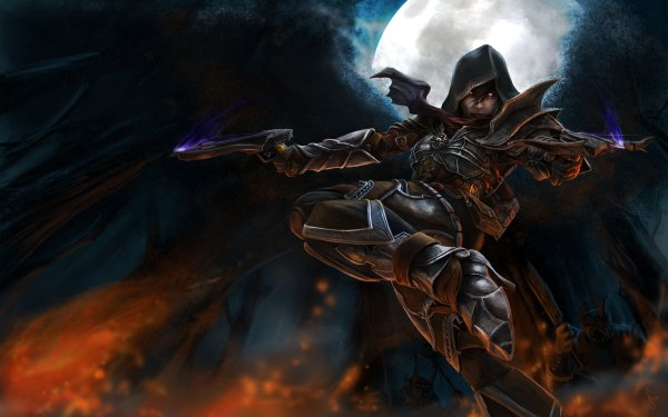 Video Game Diablo III Diablo Demon Hunter HD Wallpaper   Background Image