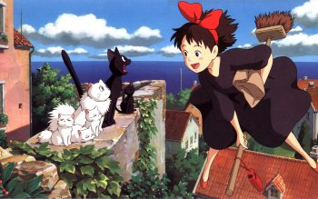 Anime - Kiki Delivery's Service Wallpapers and Backgrounds ID : 245067