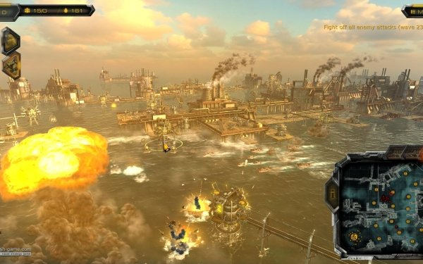 Video Game Oil Rush HD Wallpaper   Background Image
