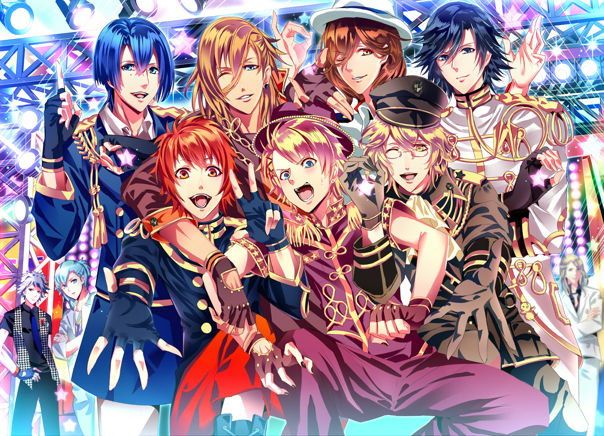 there's no english patch for utapri games? - magicaruu berry