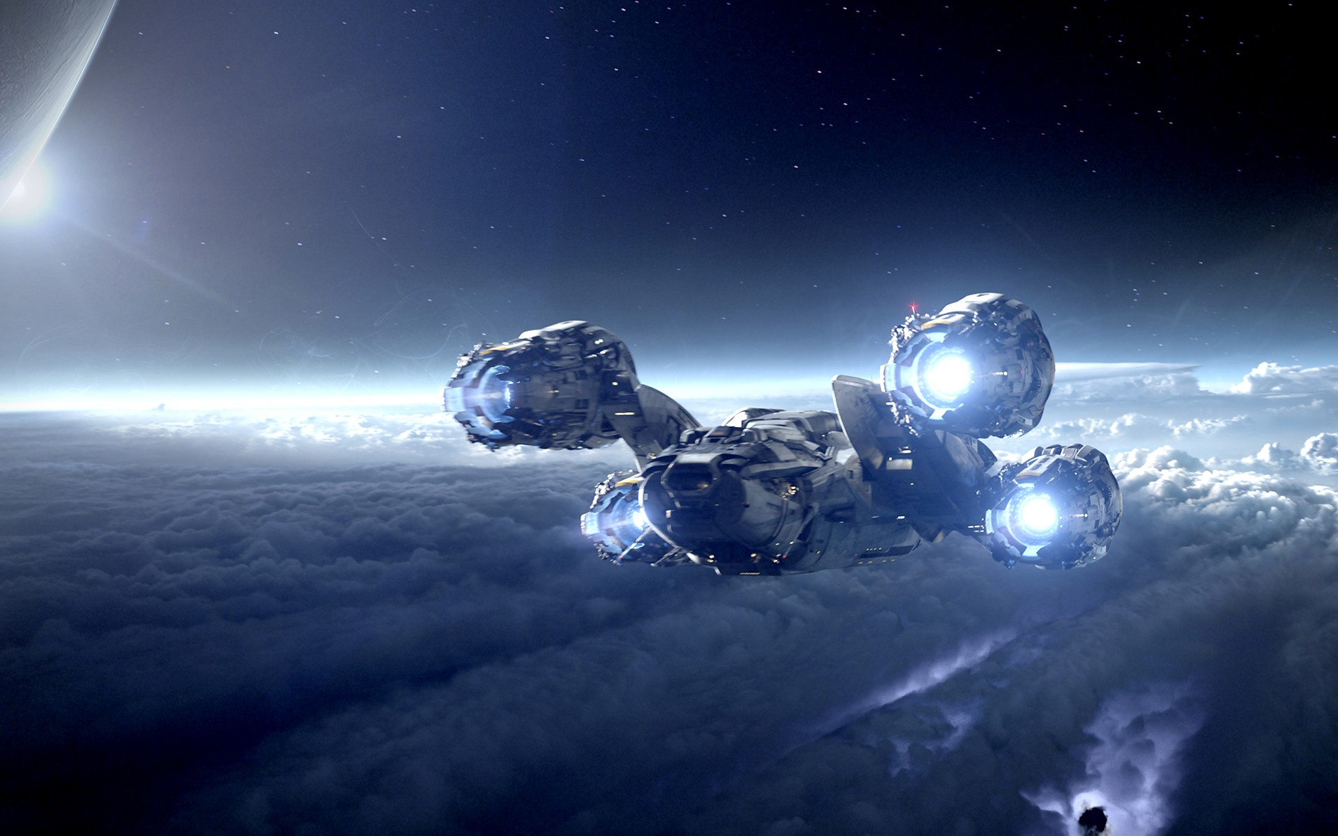 Movie - Prometheus  Spaceship Sci Fi Wallpaper