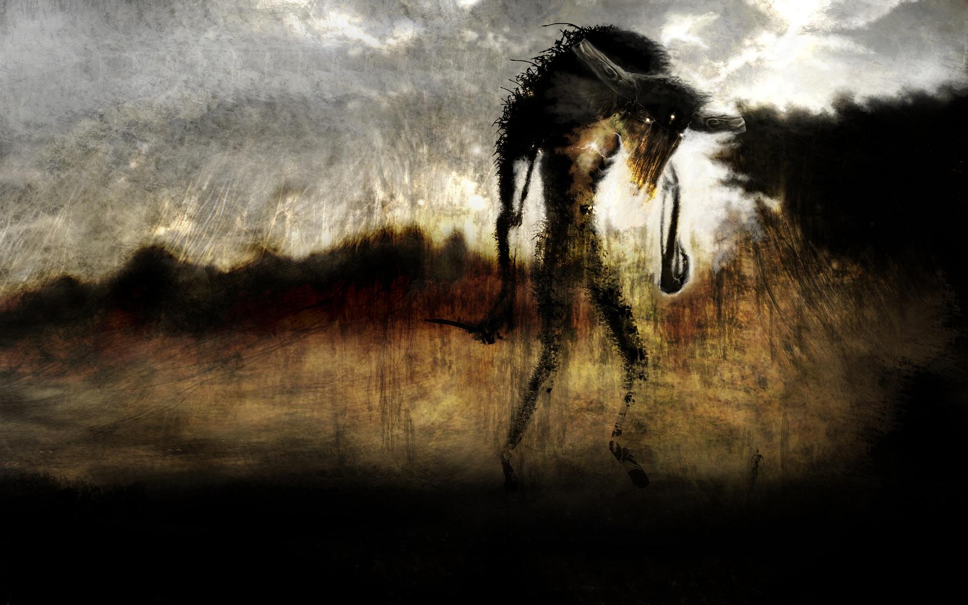 Space Demonic Art Hd Wallpaper: Demon HD Wallpaper