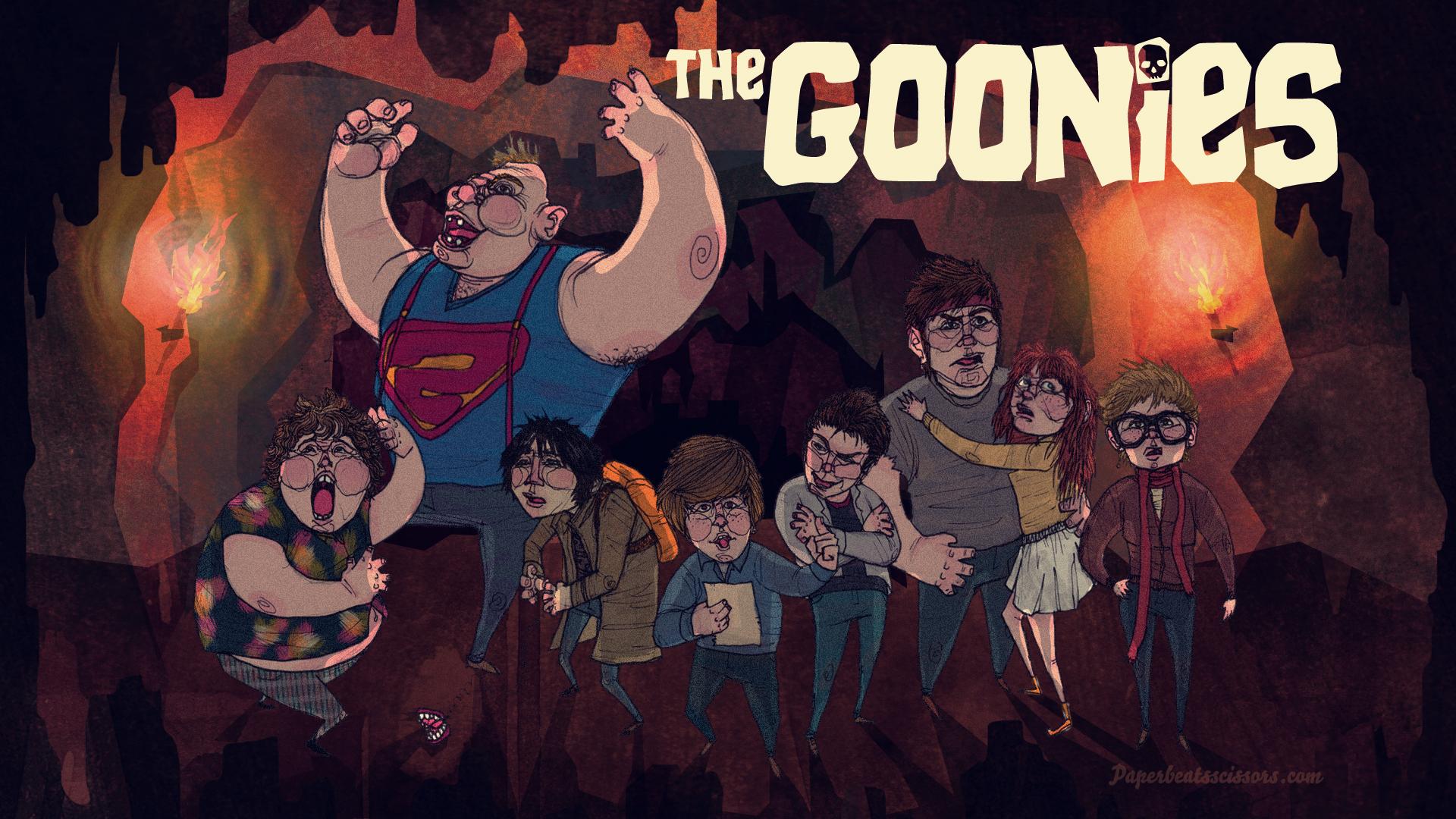 Movie - The Goonies Goonies Comedy Adventure Corey Feldman Baby Ruth