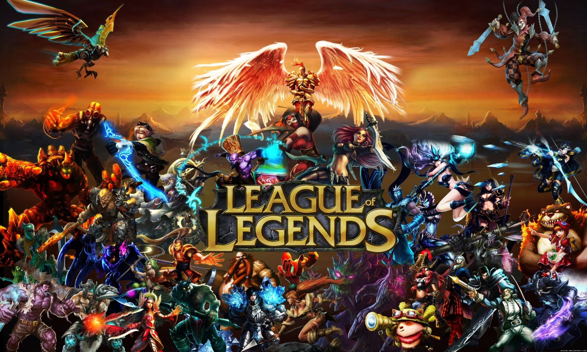 Video Game - League Of Legends  Wallpaper
