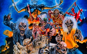 Muziek - Iron Maiden Wallpapers and Backgrounds ID : 247767