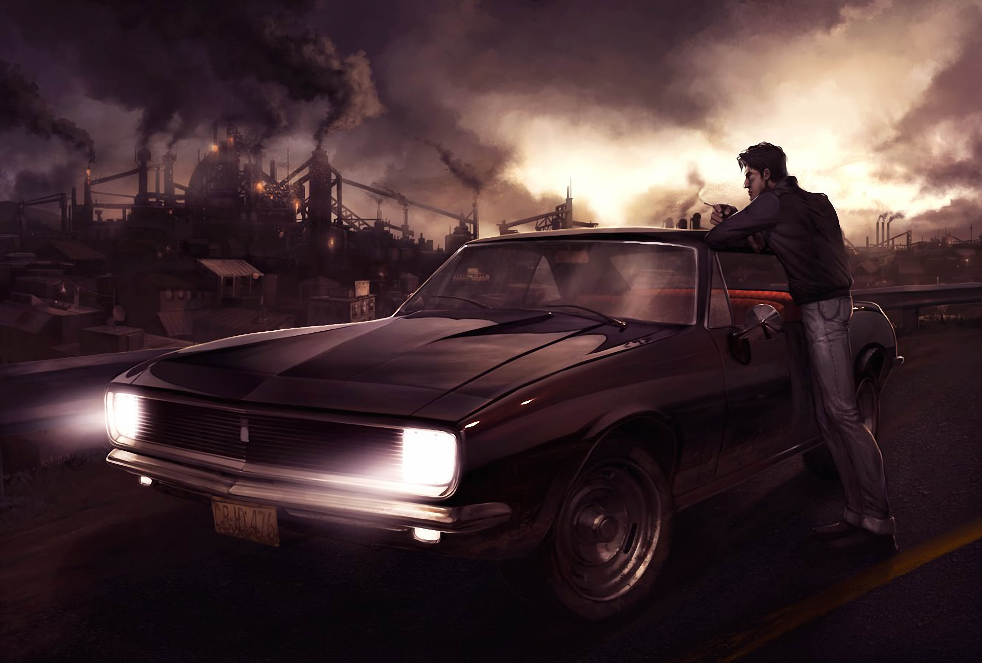 Background Car Hd Wallpapers Cities: Drake Metal City HD Wallpaper