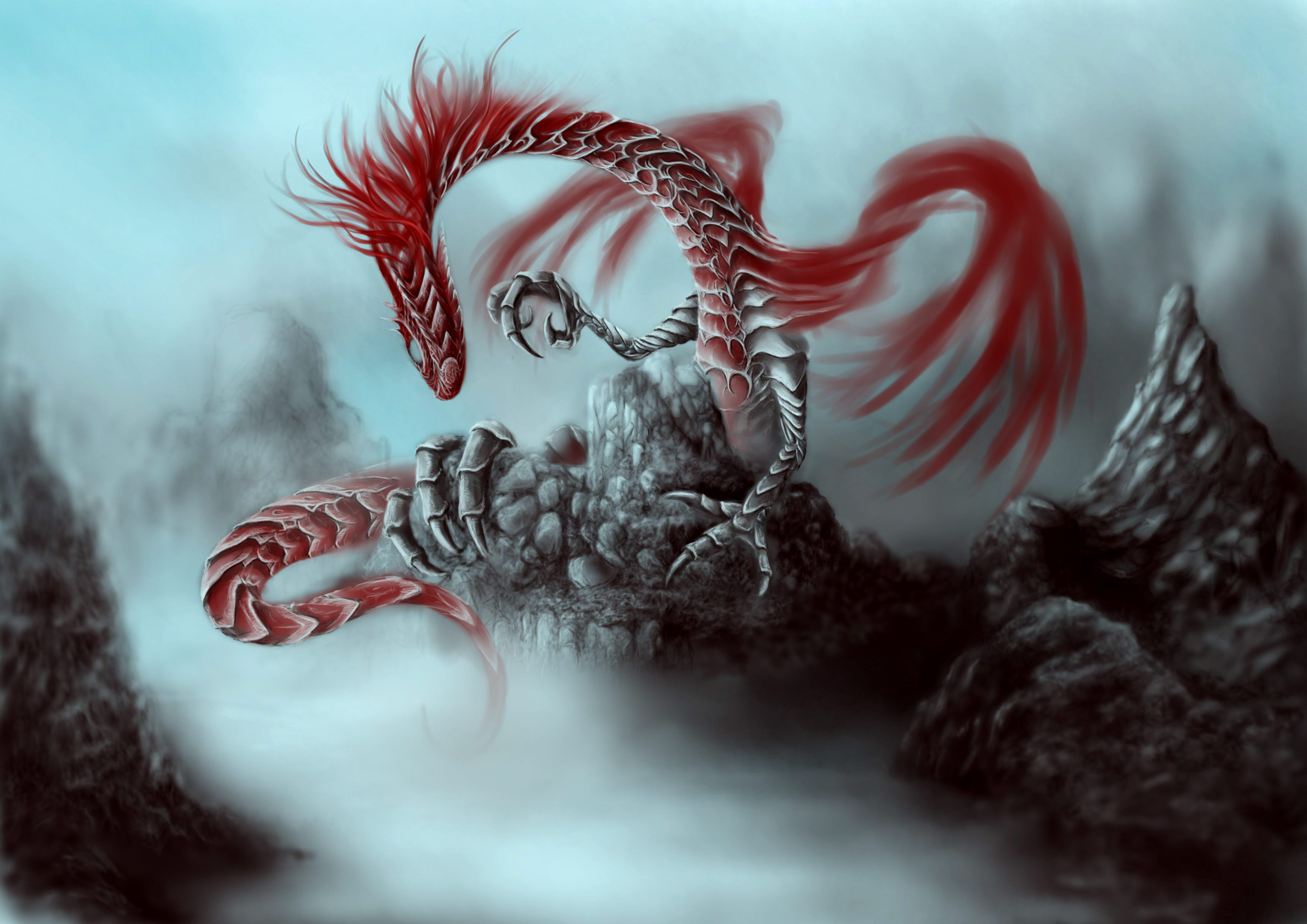 Dragon HD Wallpaper | Background Image | 3507x2480 | ID:248485 - Wallpaper Abyss