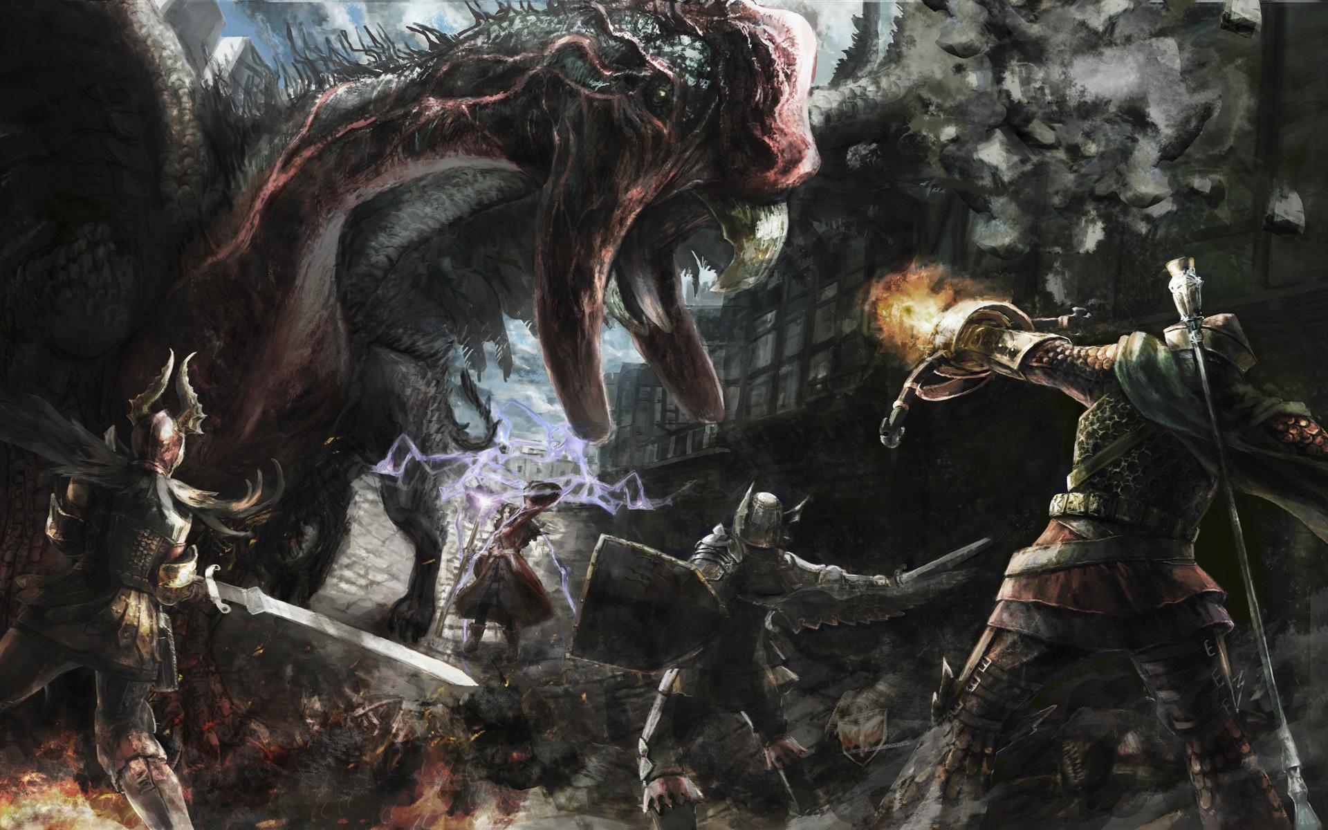 Dragons Dogma Dark Arisen Full HD Wallpaper And Background Image