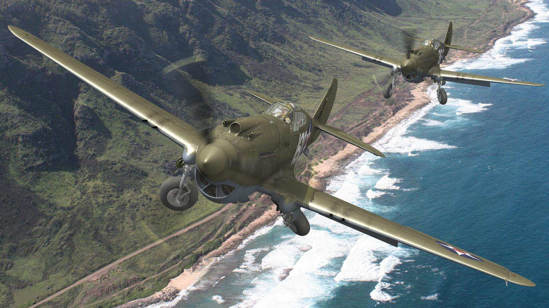 Curtiss P-40 Warhawk Computer Wallpapers, Desktop ...