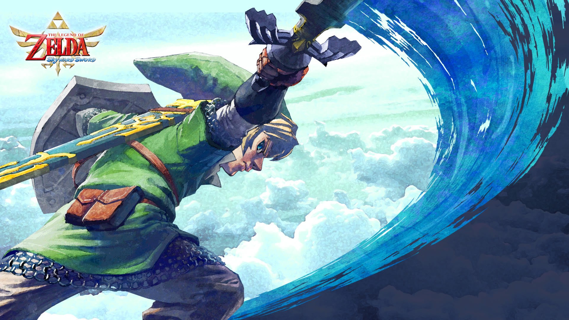 The Legend Of Zelda Skyward Sword Hd Wallpaper Hintergrund