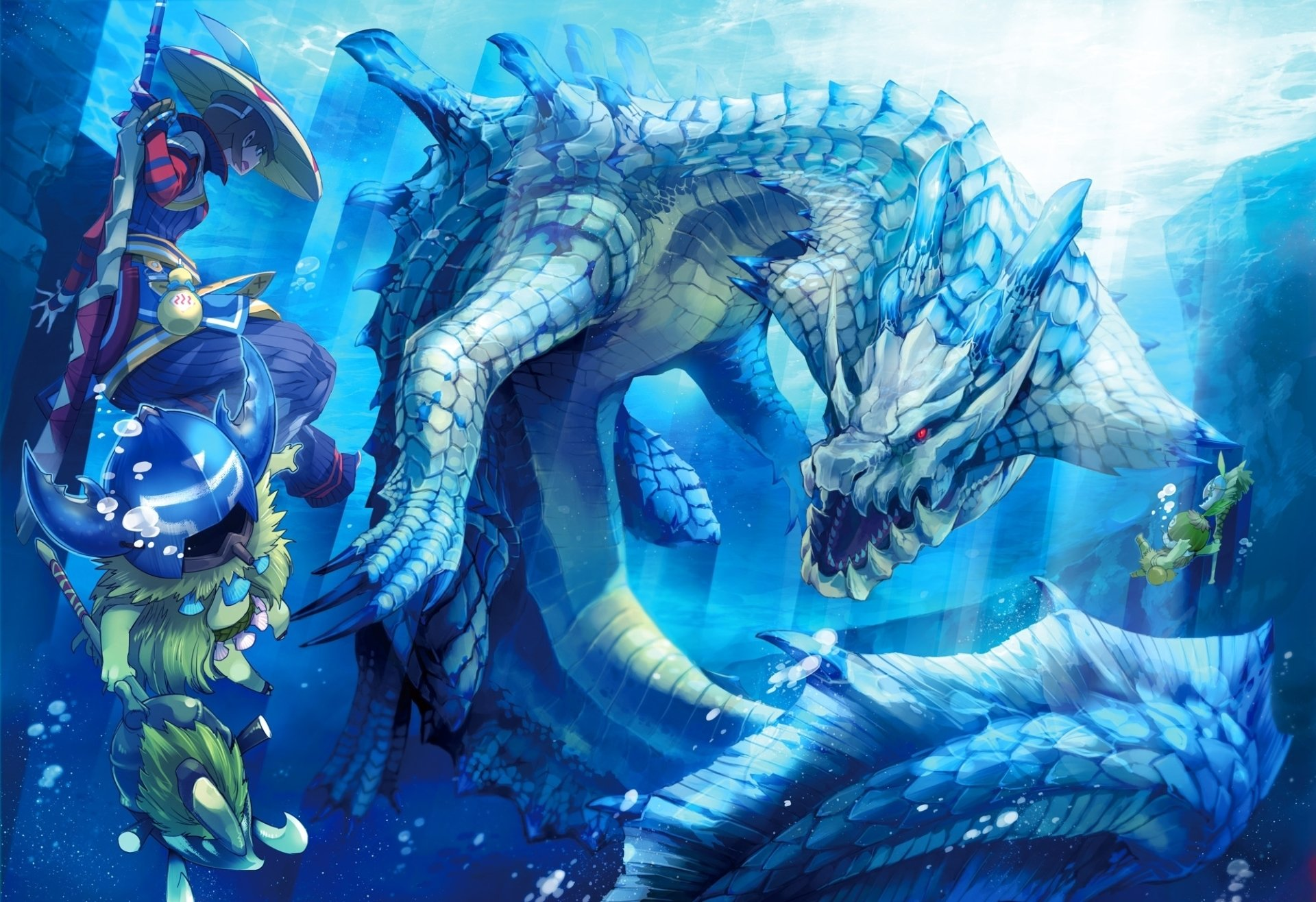 Video Game - Monster Hunter  Lagiacrus (Monster Hunter) Wallpaper