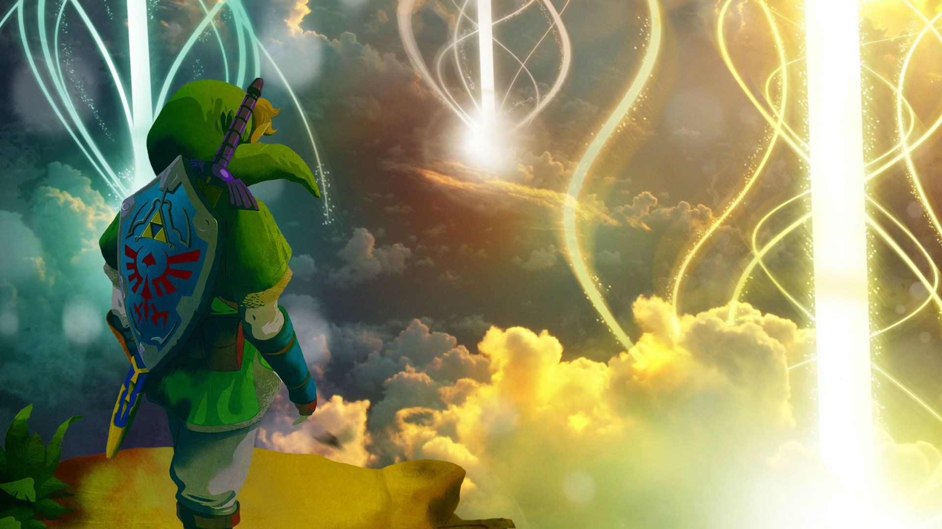 Video Game - The Legend Of Zelda: Skyward Sword  Link Wallpaper