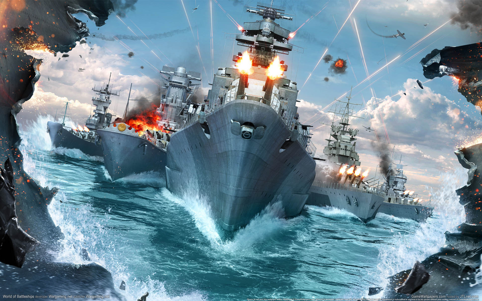 World Of Warships Full HD Wallpaper And Background Image