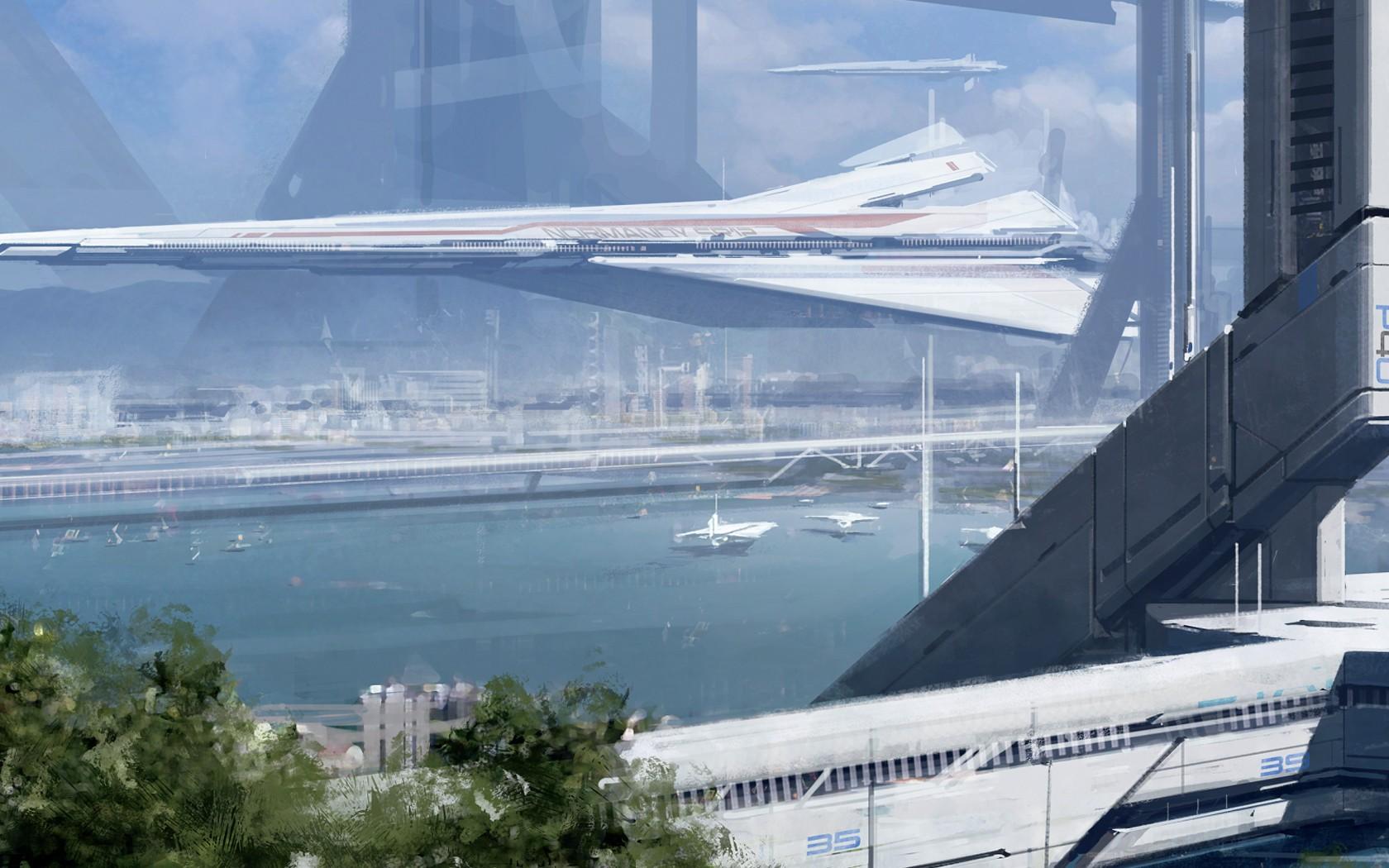 Mass Effect  Villes
