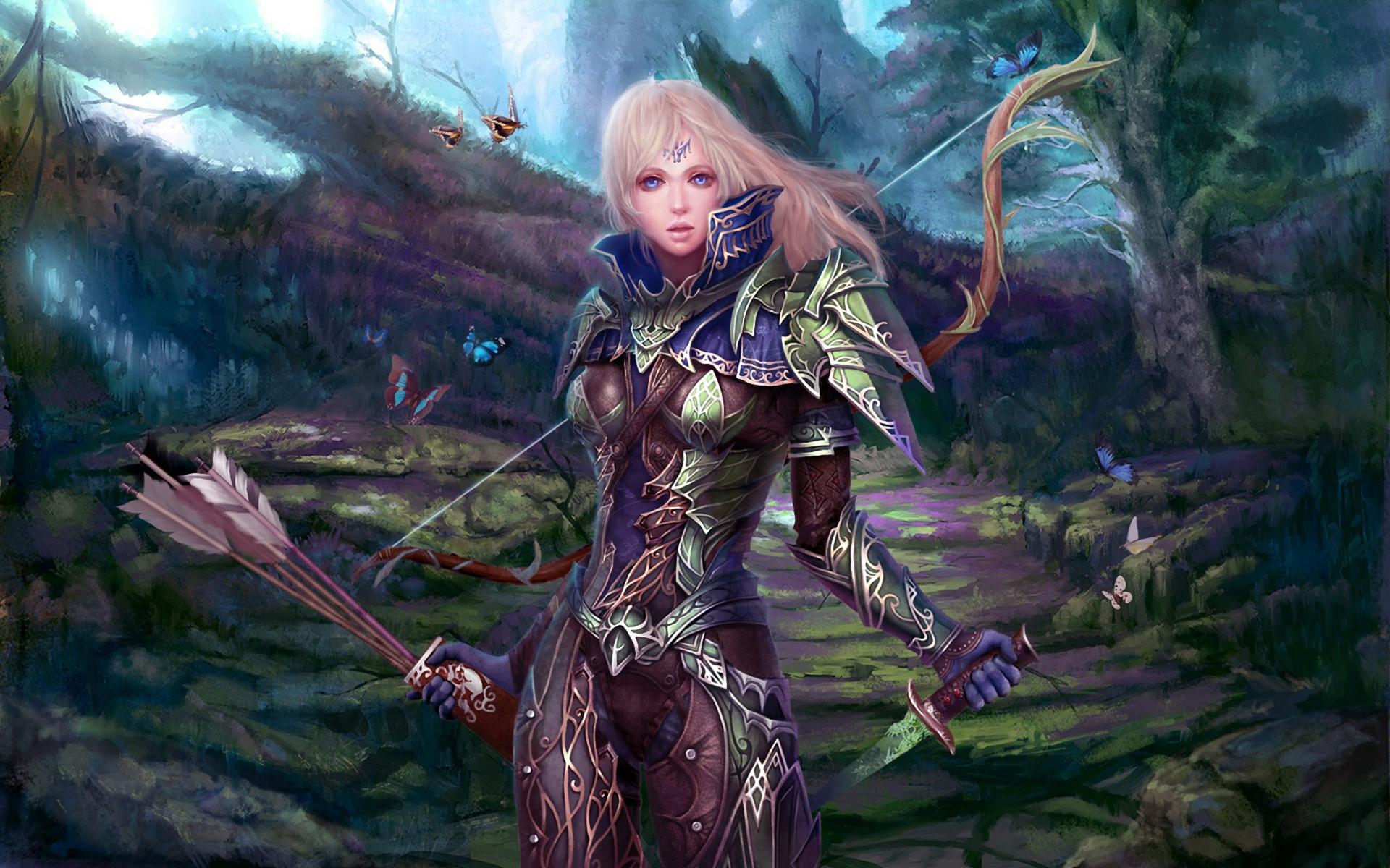 download wallpaper female warrior - photo #2