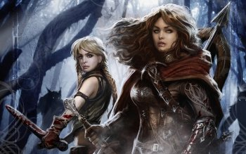 Fantasy - Women Warrior Wallpapers and Backgrounds ID : 256527