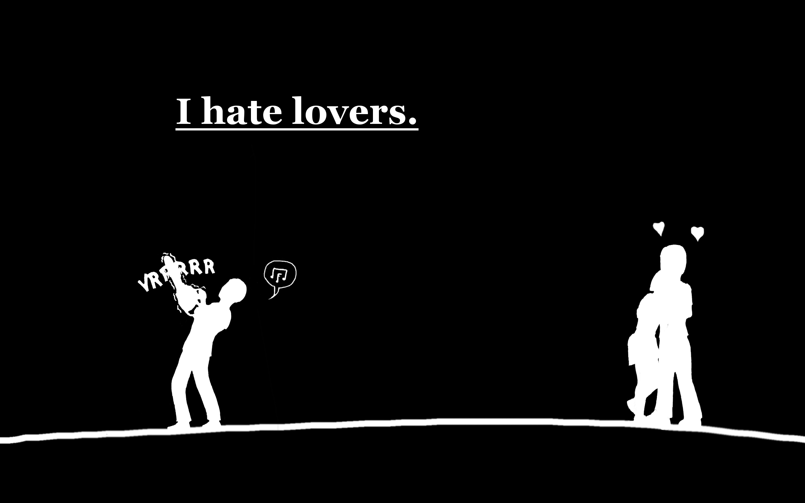 I hate lovers Full HD Wallpaper and Background Image 2560x1600 ID:258609