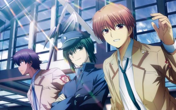 Anime Angel Beats! Yuzuru Otonashi Noda Ayato Naoi HD Wallpaper | Background Image