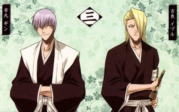 Anime Bleach Gin Ichimaru Izuru Kira HD Wallpaper   Background Image