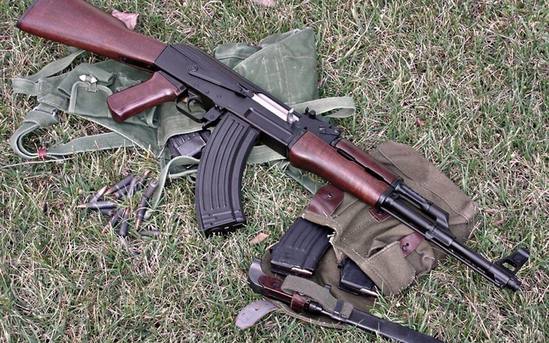Akm Assault Rifle Full HD Wallpaper and Background Image ...