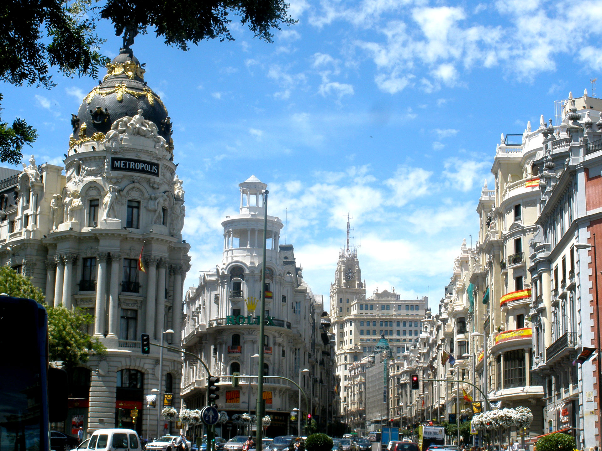 Madrid spain full hd wallpaper and background image - Madrid wallpaper ...