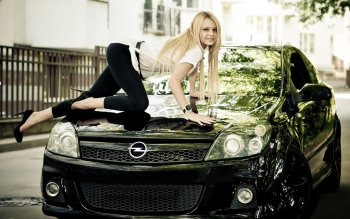 Women - Girls & Cars Wallpapers and Backgrounds ID : 261409