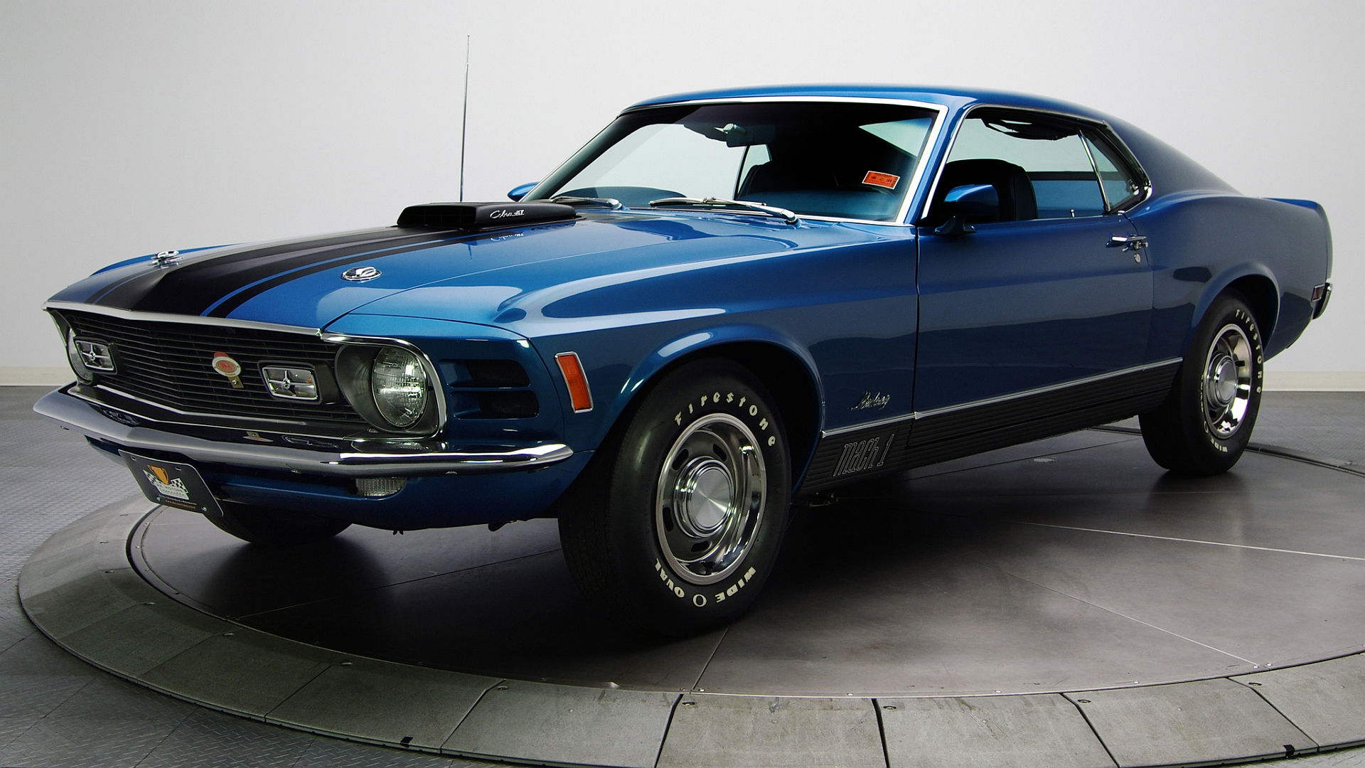 Ford Mustang Mach 1 HD Wallpaper Background Image