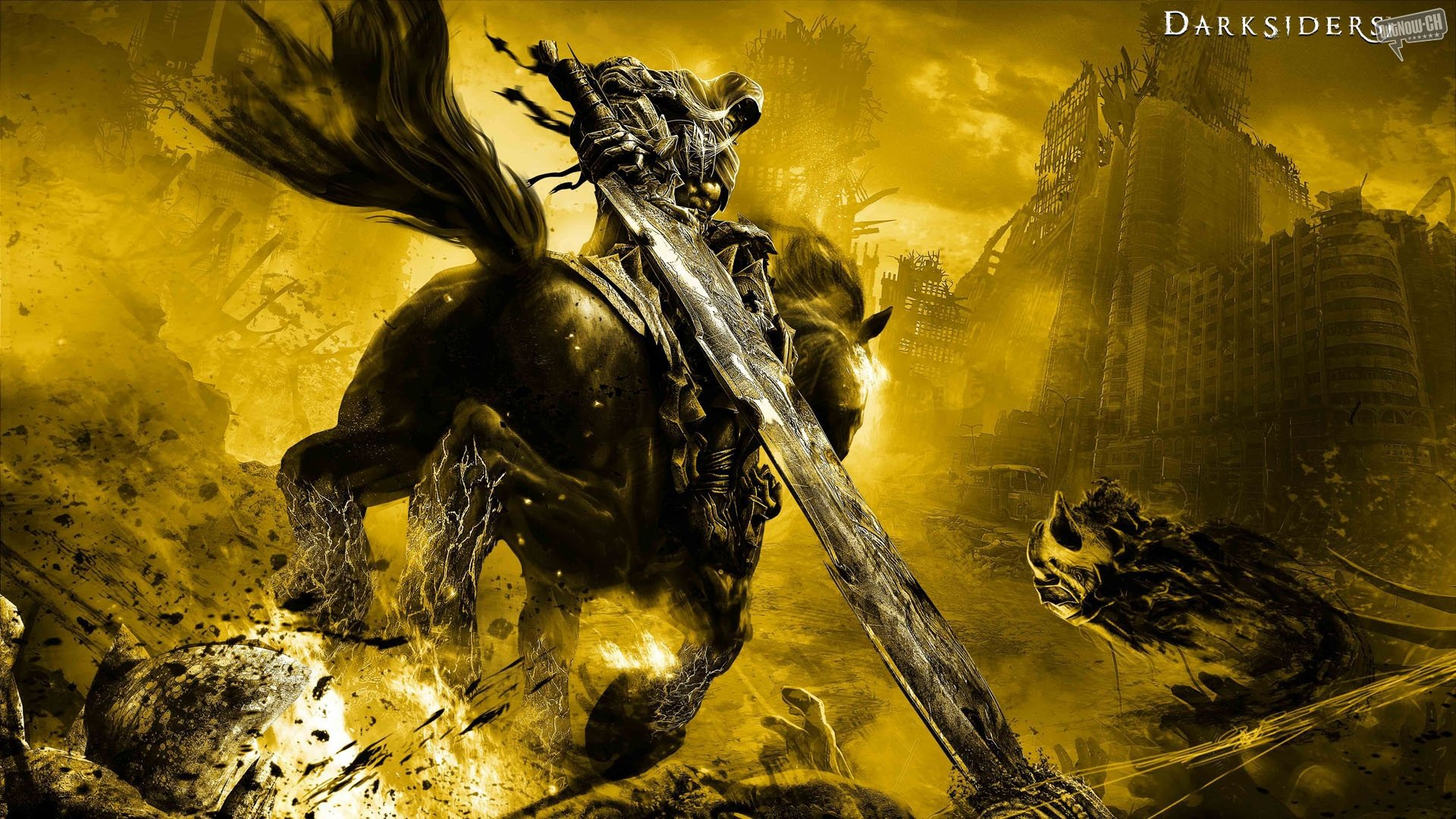Darksiders War Wallpaper By: Darksiders Papel De Parede HD