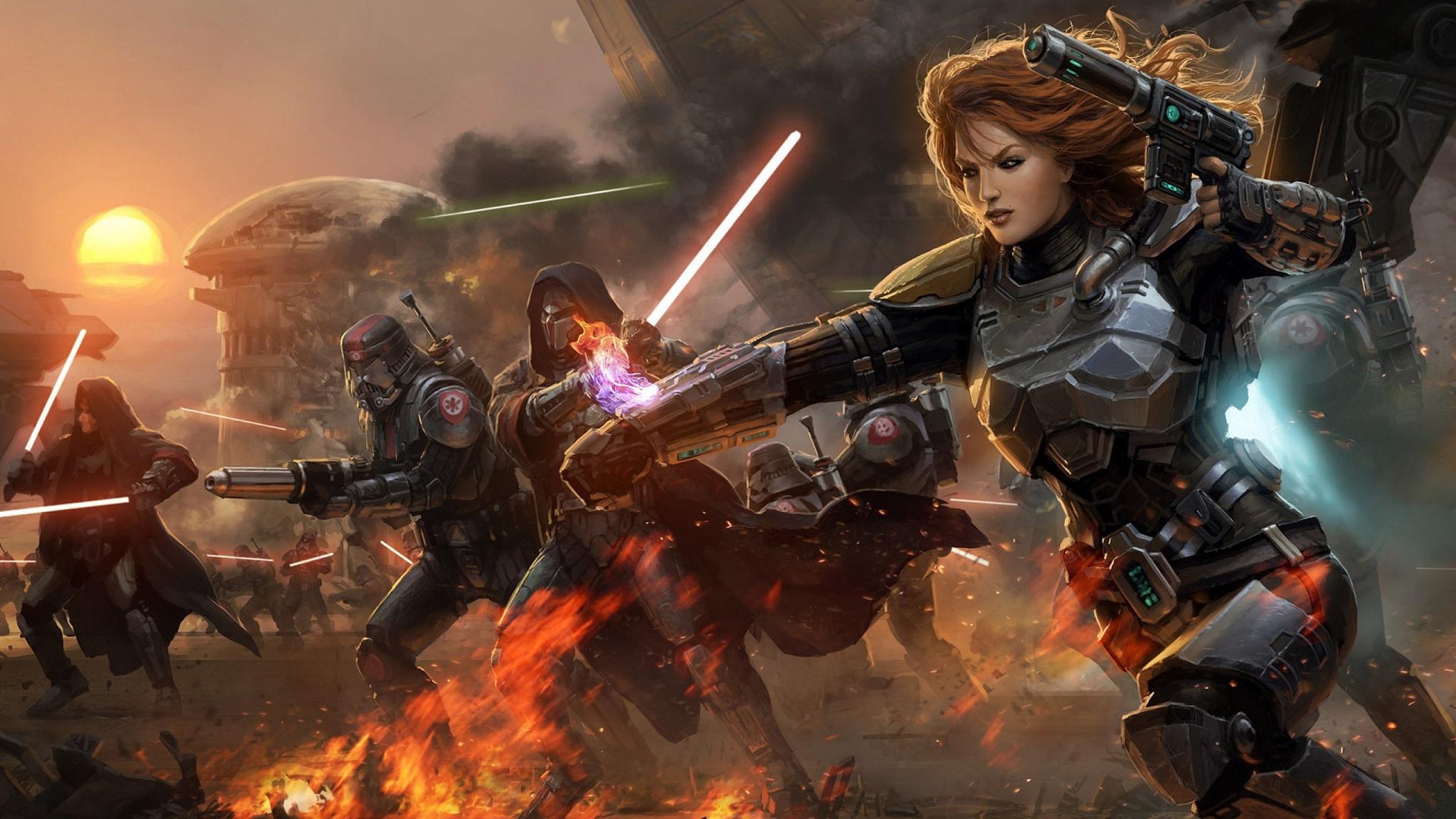 Star Wars The Old Republic Swtor Fondo De Pantalla Hd