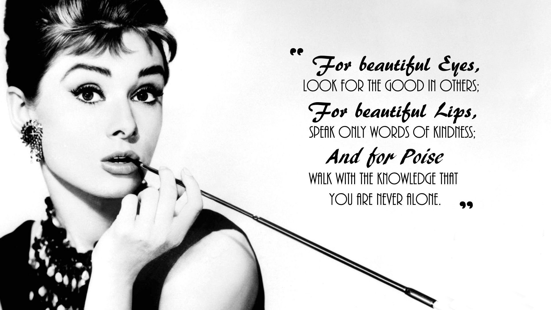 Audrey Hepburn Full HD Wallpaper and Background Image