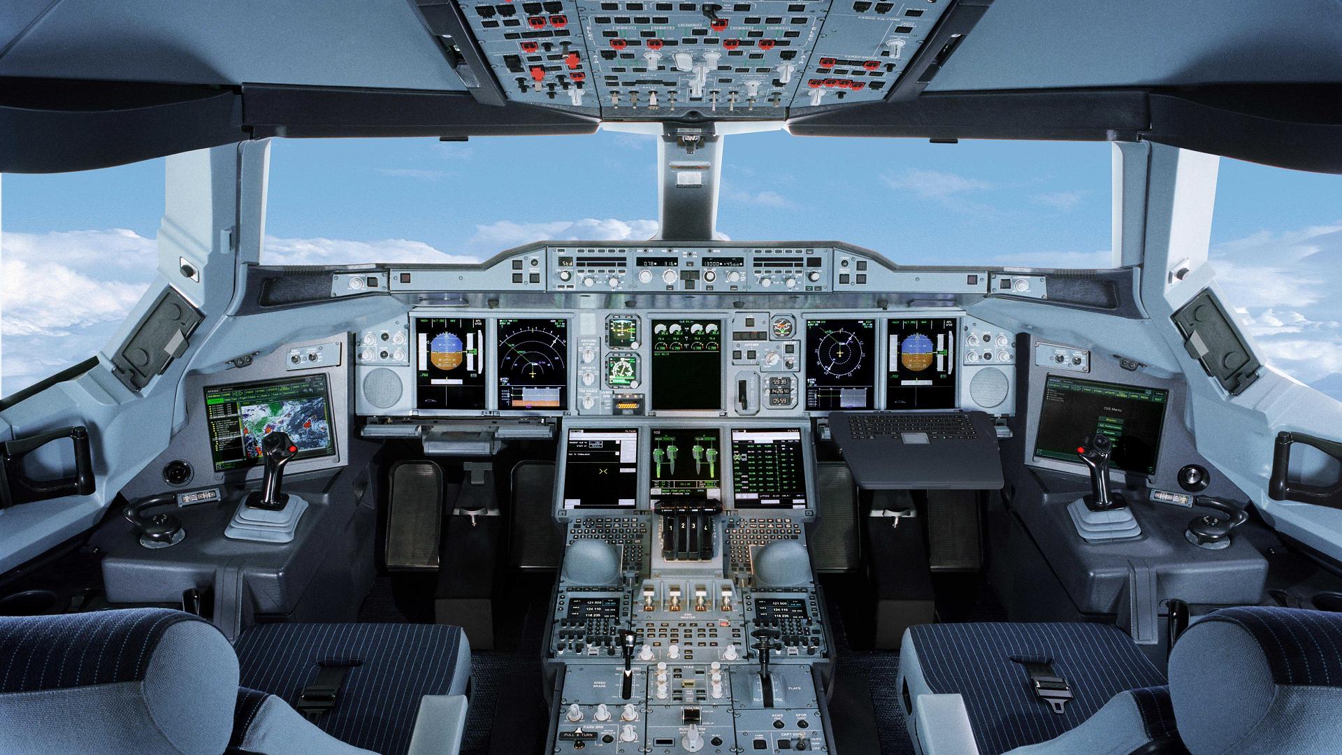 Airbus full hd wallpaper and hintergrund 1920x1080 id - 4k cockpit wallpaper ...