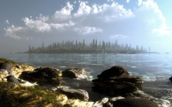 CGI - Paisaje Wallpapers and Backgrounds ID : 262775