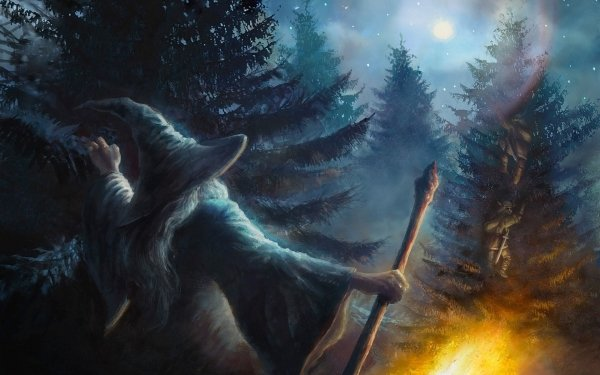 Fantasy Lord of the Rings The Lord of the Rings Gandalf Dwarf HD Wallpaper | Background Image