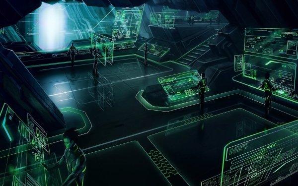 Video Game Tron: Evolution Tron Sci Fi Futuristic Green HD Wallpaper   Background Image