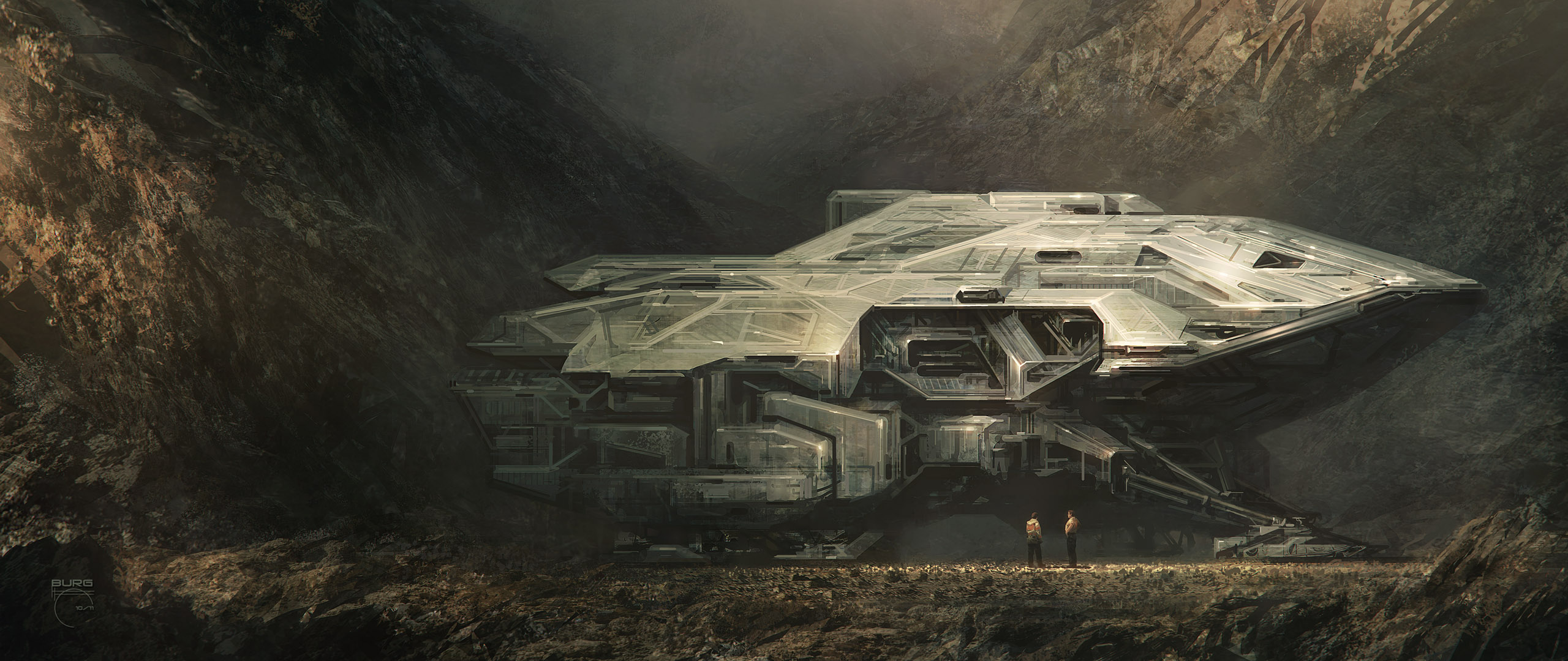 Spaceship hd wallpaper background image 2560x1080 id - Spaceship wallpaper ...