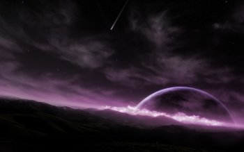 Fantascienza - Planet Rise Wallpapers and Backgrounds ID : 26415