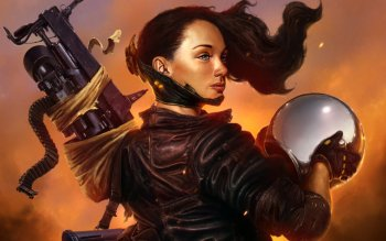Sci Fi - Women Warrior Wallpapers and Backgrounds ID : 264847