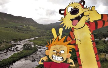 Cartoni - Calvin And Hobbes Wallpapers and Backgrounds ID : 26555