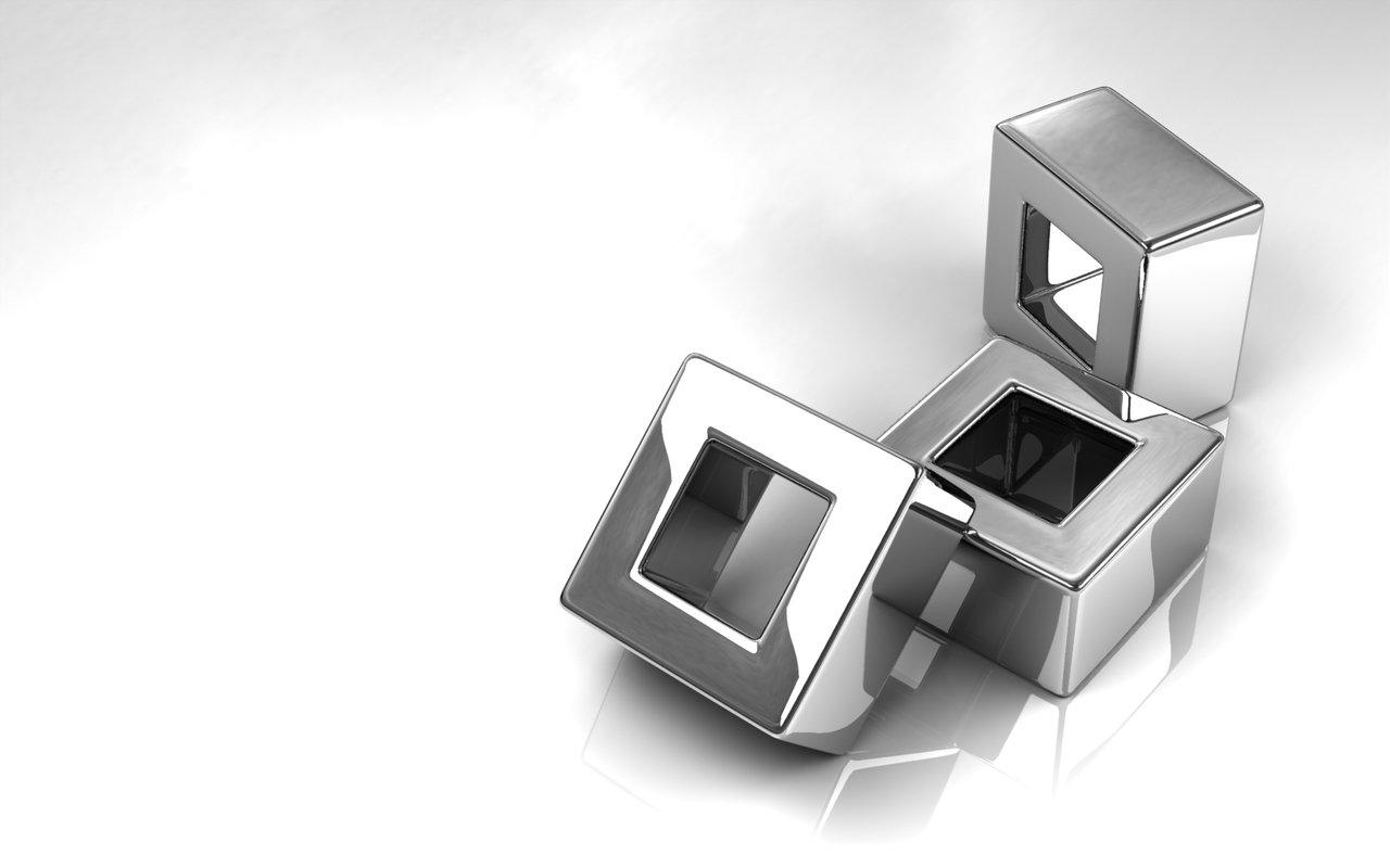 CGI - Cube  Wallpaper