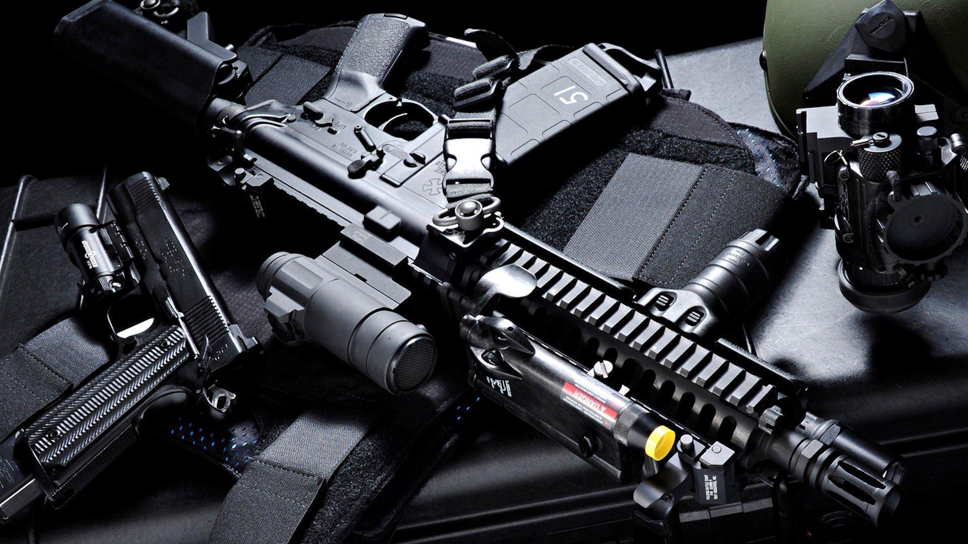 hd senjata senapan