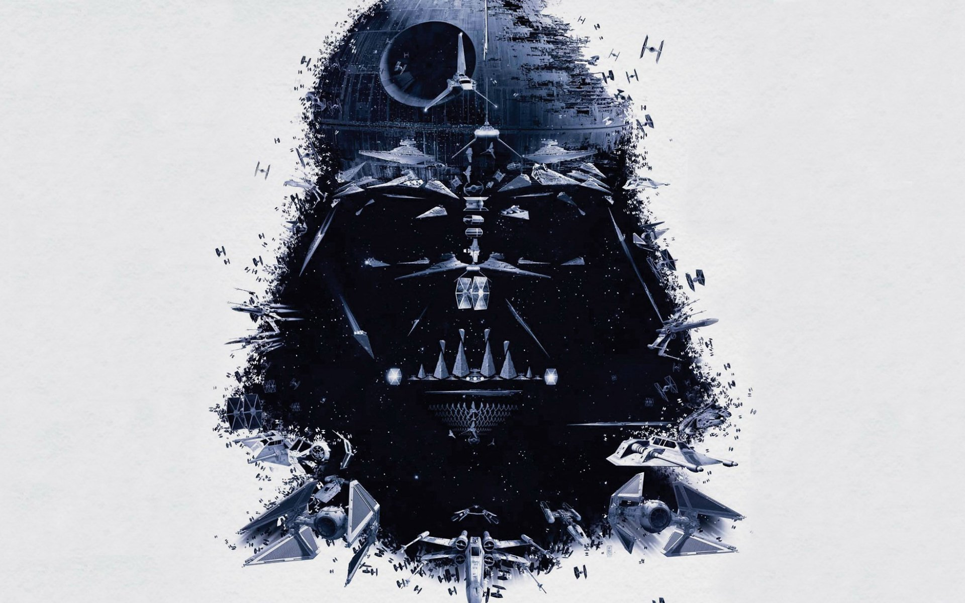 Movie - Star Wars  Darth Vader Death Star Wallpaper