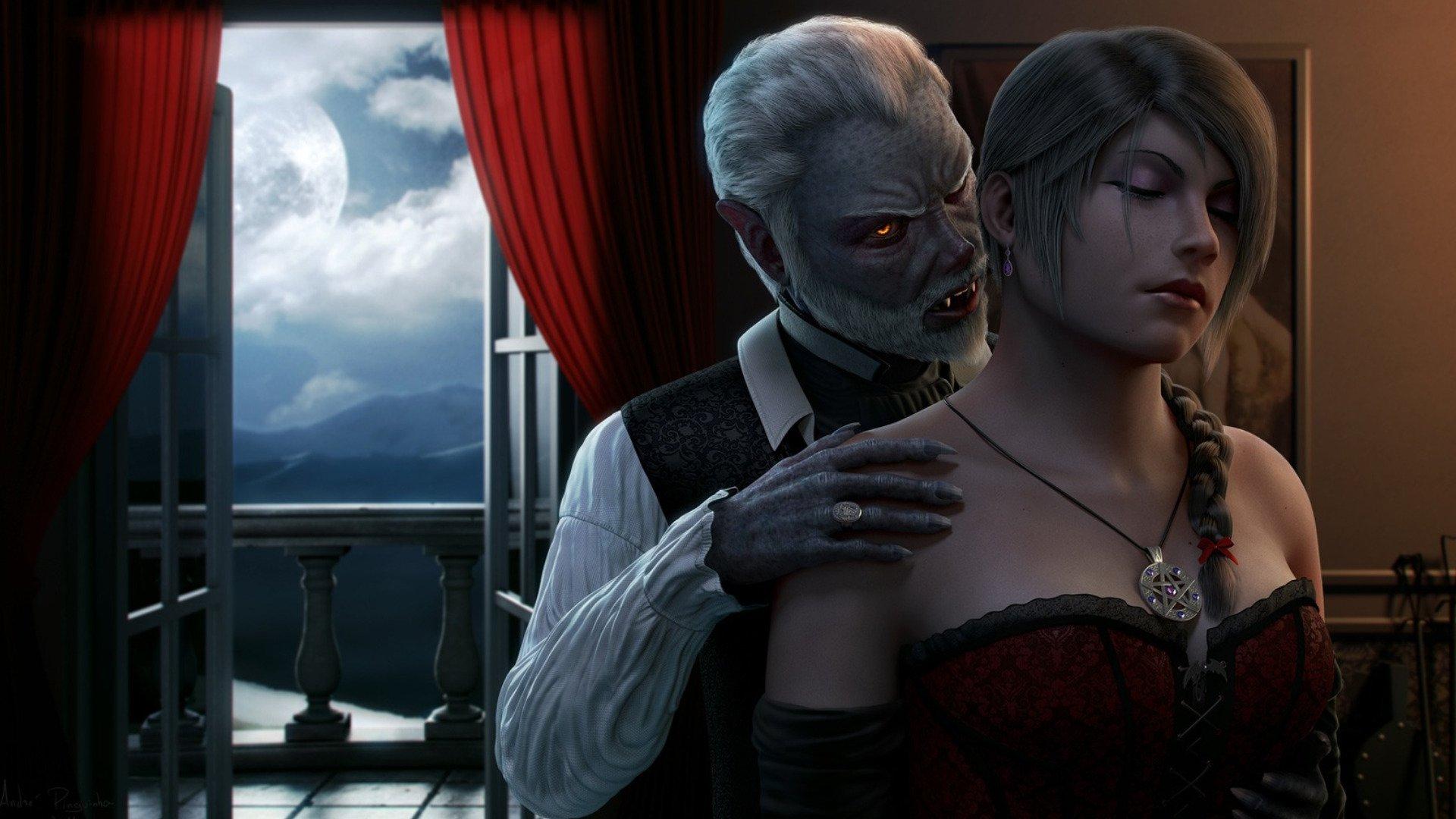 Vampire The Masquerade Bloodlines 1920x1080: Vampire HD Wallpaper