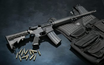 Weapons - Assault Rifle Wallpapers and Backgrounds ID : 266417
