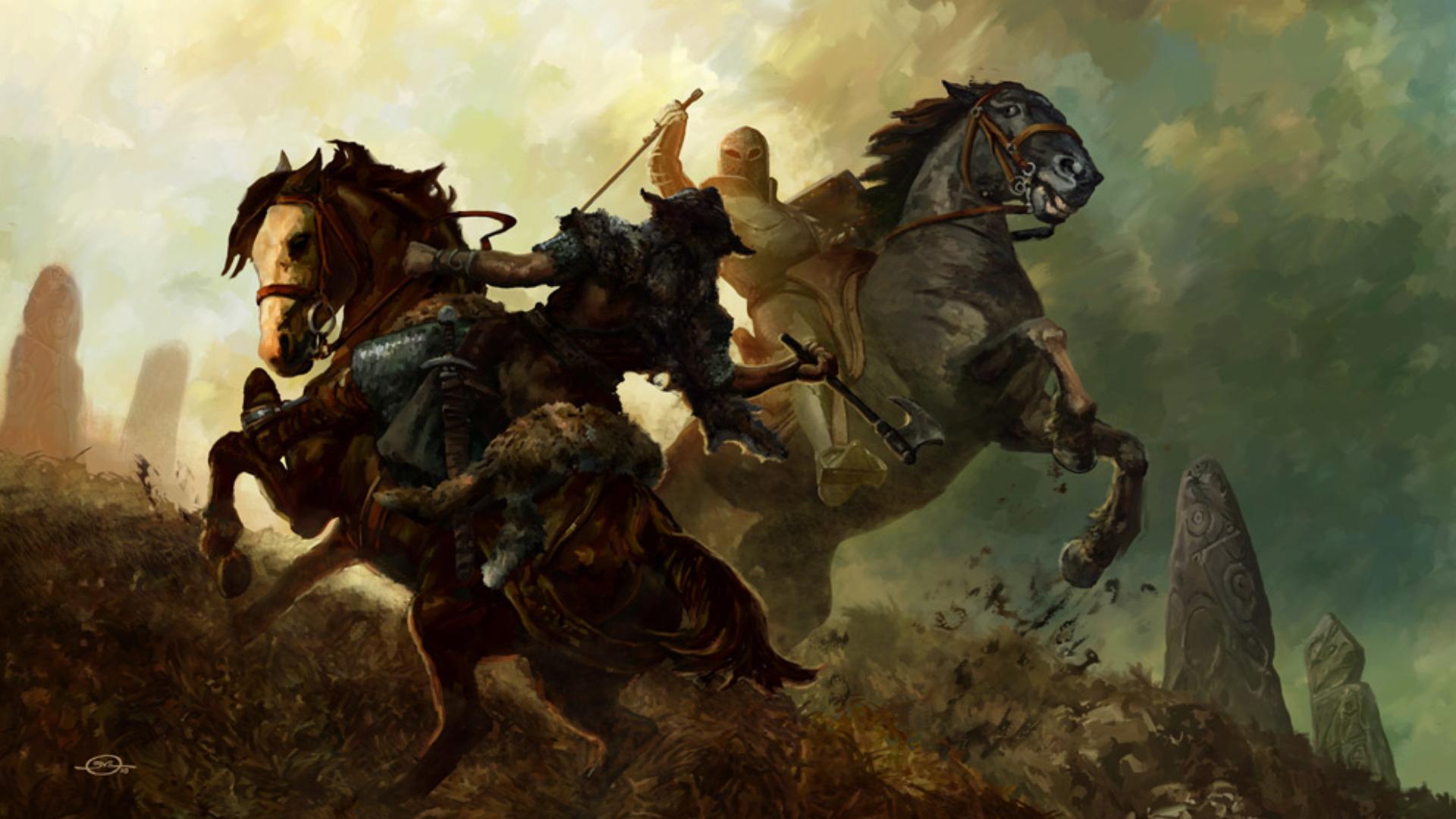 Fantasy Battle Wallpaper 1920x1080