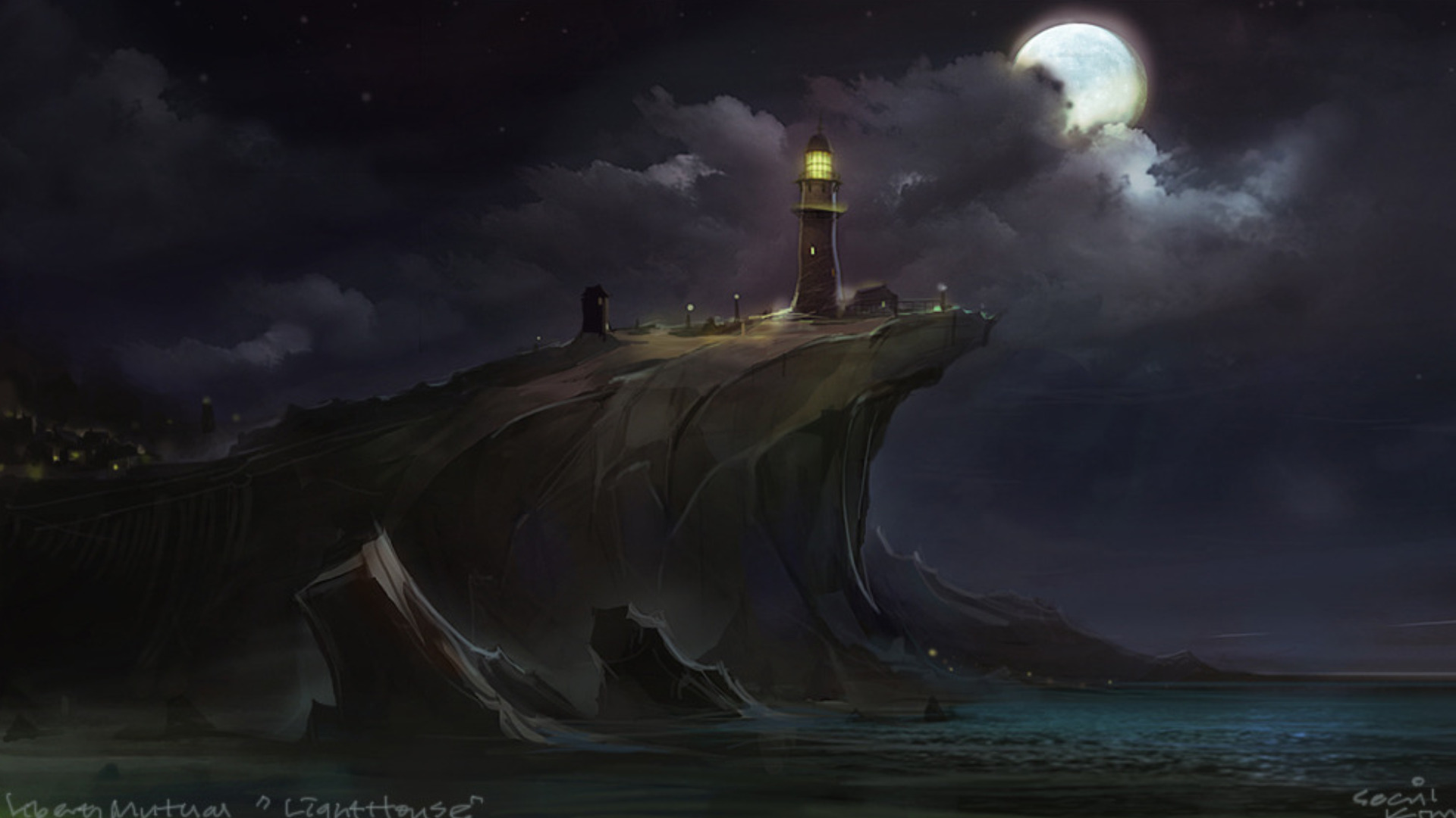 lighthouse wallpaper desktop - photo #44