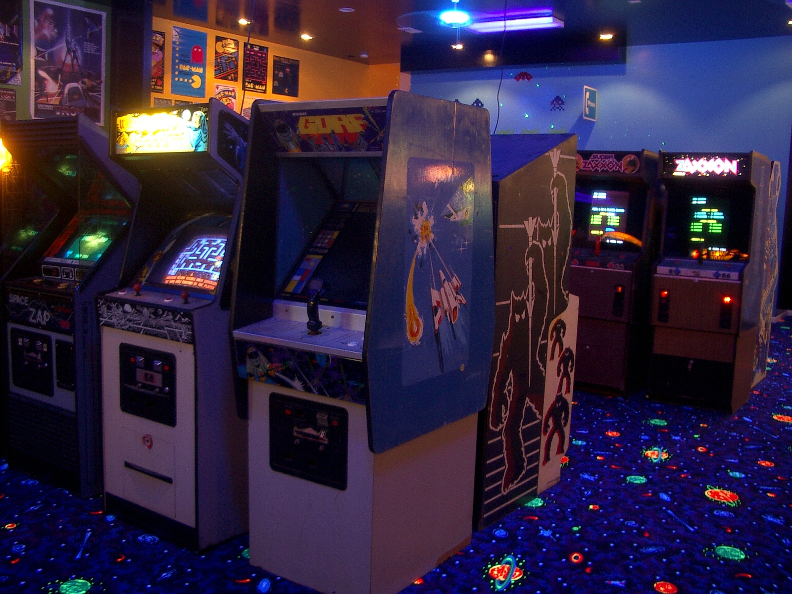 Arcade Wallpaper And Background Image