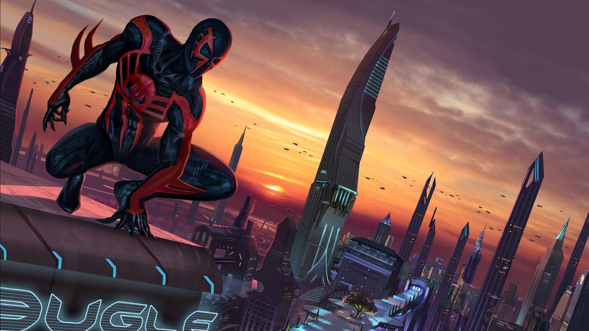 Spider Man Shattered Dimensions Noir Wallpaper Crazywidowinfo