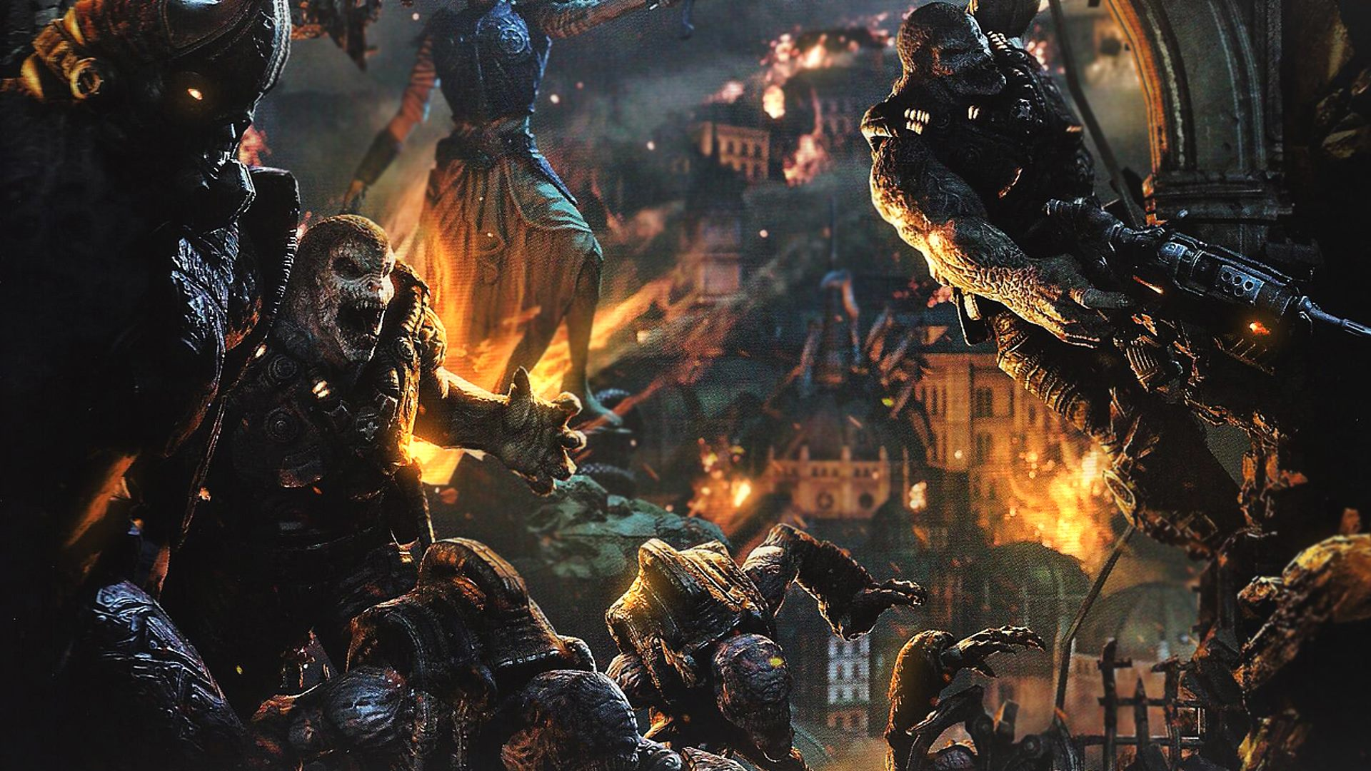 Gears Of War Judgment Full HD Wallpaper And Background Image